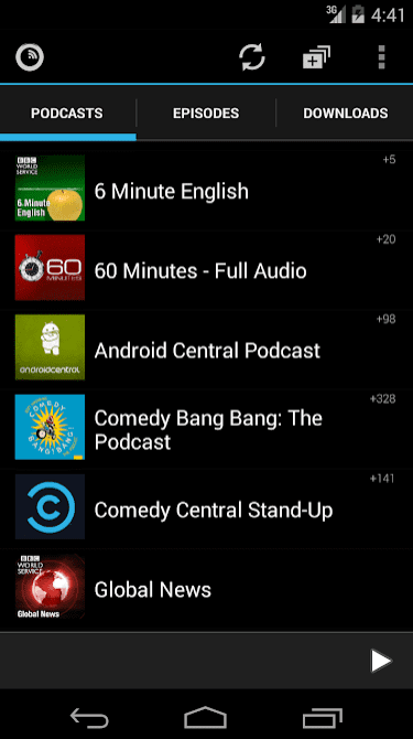 Podkicker Podcast Player app