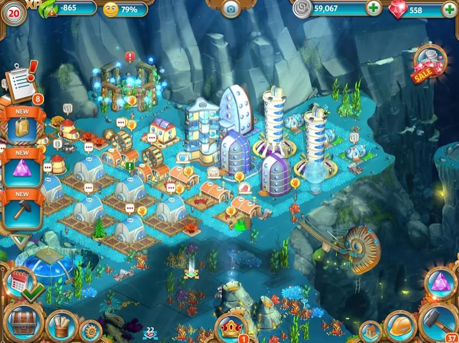 Aquapolis app