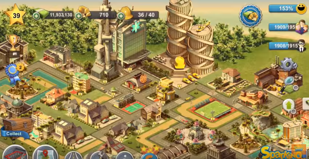 City Island 4- Simulation Town app