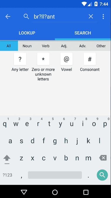 Dictionary - WordWeb app review