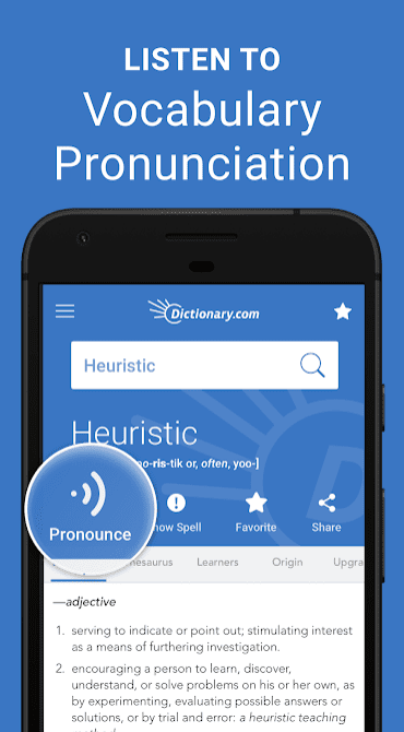 Dictionary.com app review