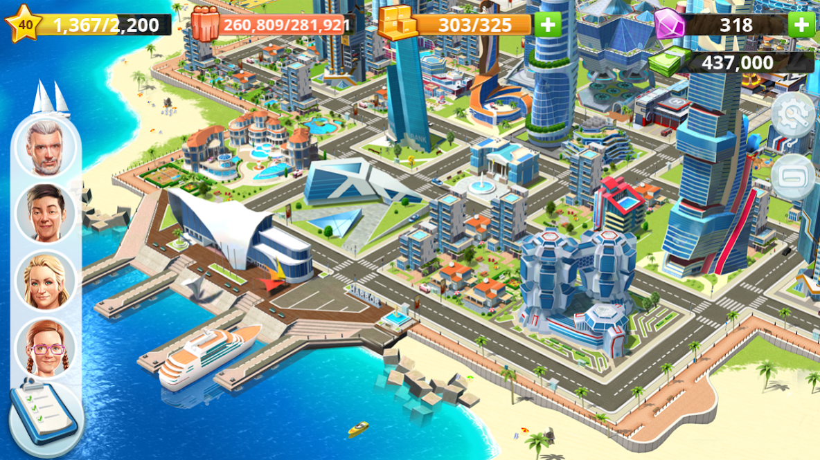 Little Big City 2 app