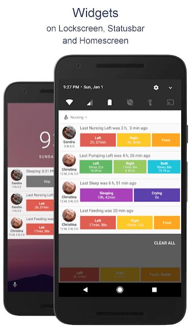 Breastfeeding - Baby Tracker App review