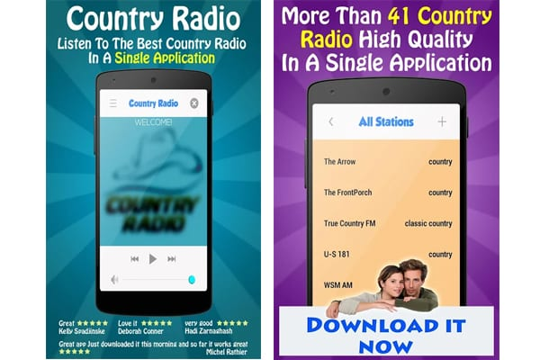 country music application