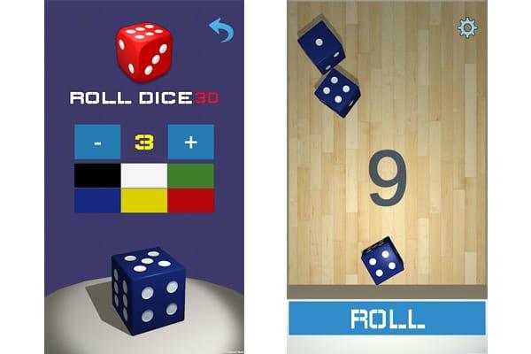 roller dice apps