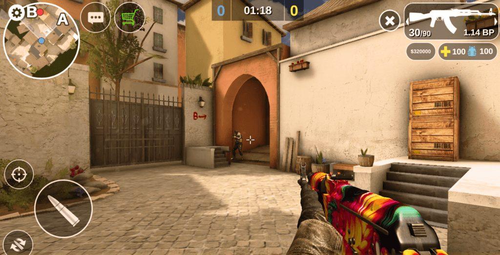 Counter Attack app