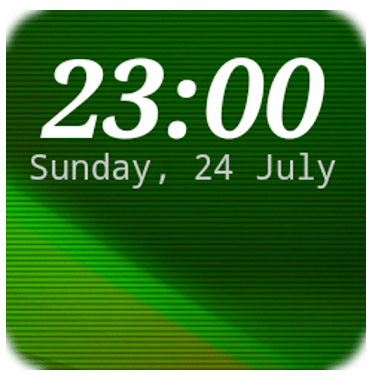 DIGI Clock Widget app review