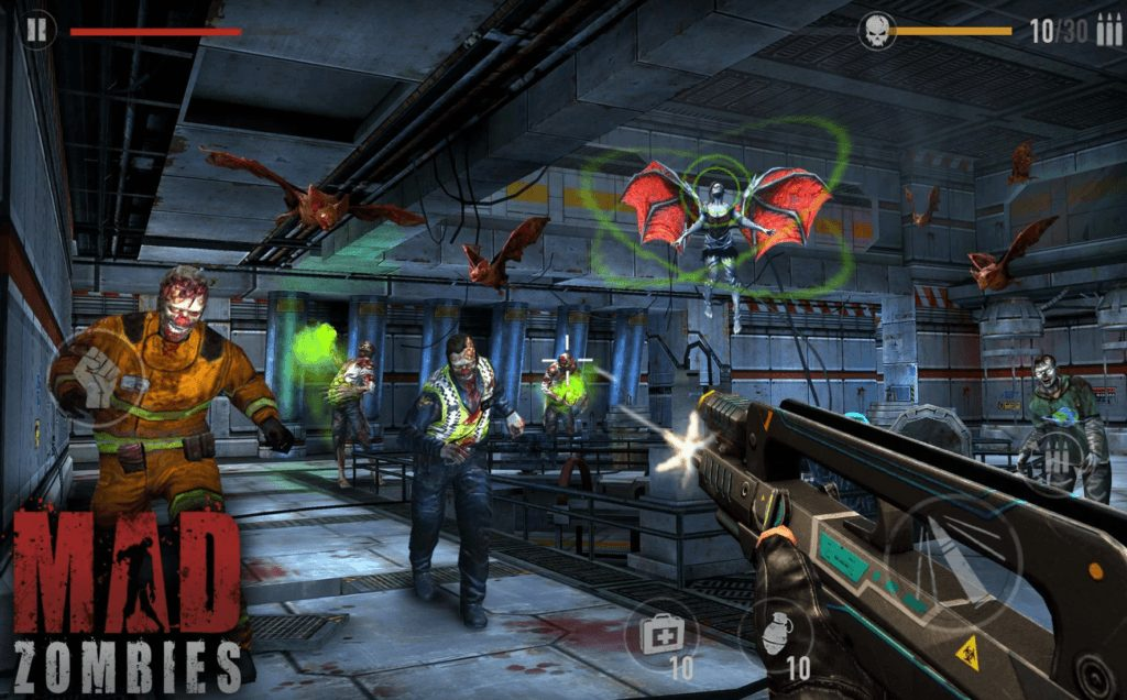 MAD ZOMBIES app