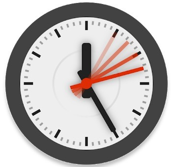 Animated Analog Clock Widget app