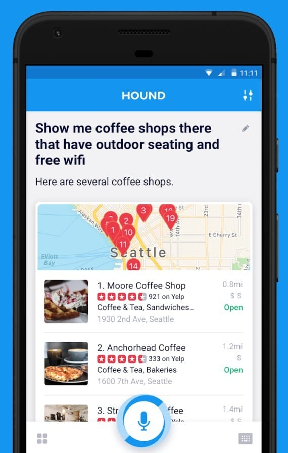 HOUND Voice Search & Mobile Assistant app review