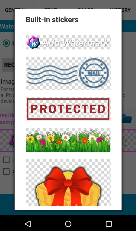 Add Watermark Free app
