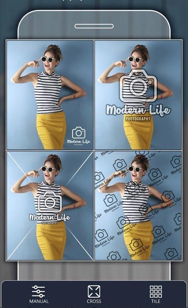 Add Watermark on Photos app