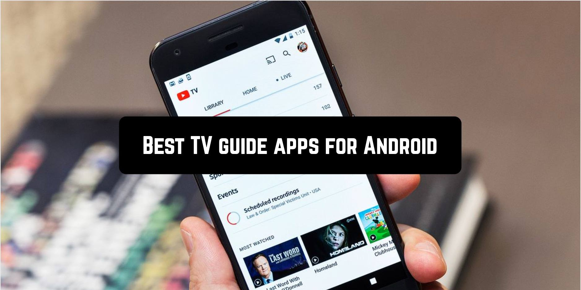 Best TV guide apps for Android