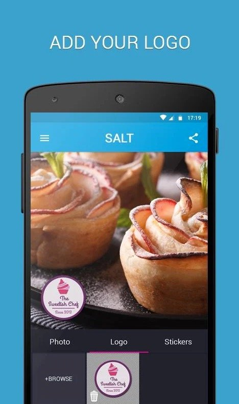 SALT - Watermark, resize & add text to photos app review