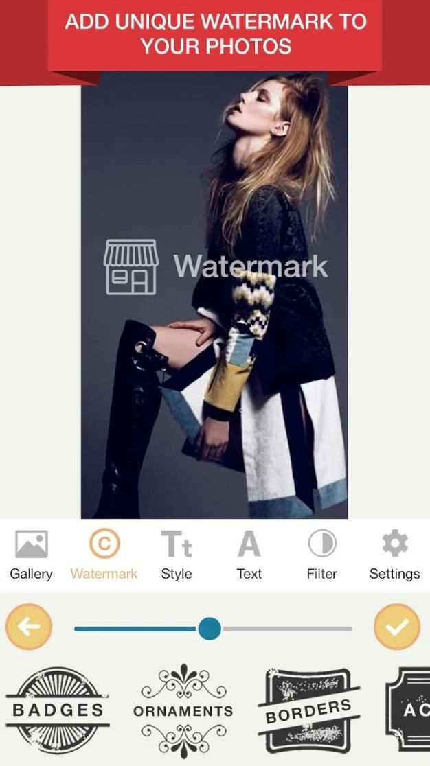 Watermark Photo app