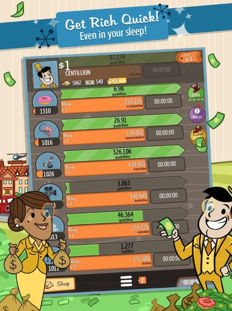AdVenture Capitalist app
