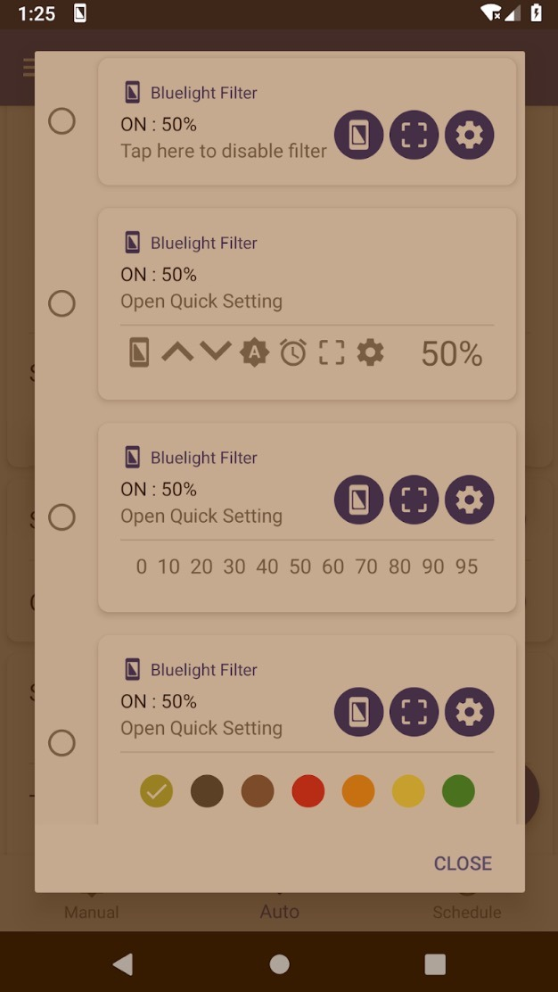 Bluelight Filter for Eye Care app