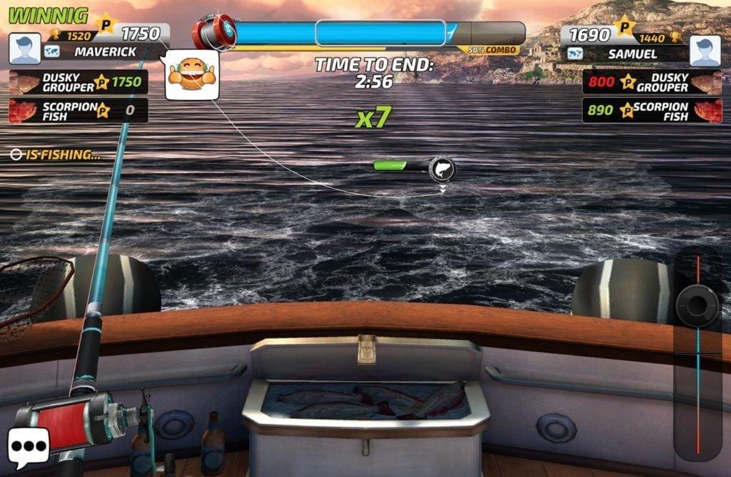 Fishing Clash app