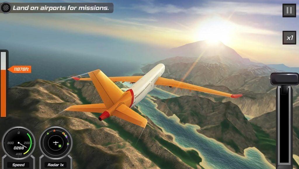 Flight Pilot Simulator 3D app