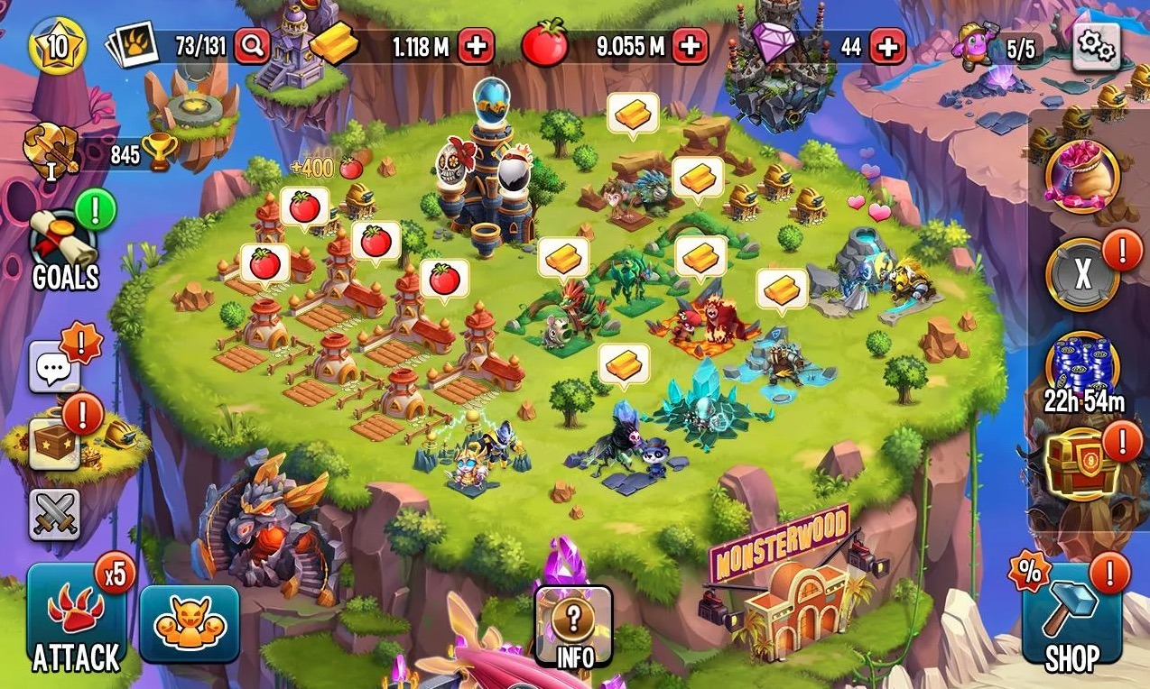 Monster Legends app