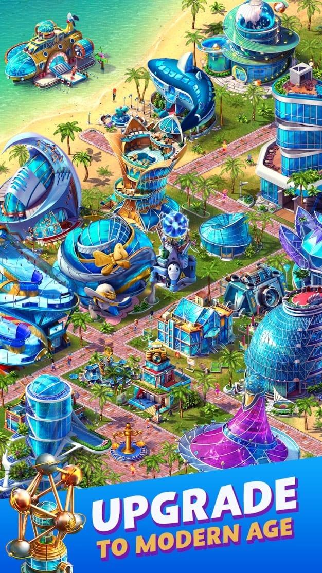 Paradise Island 2 app