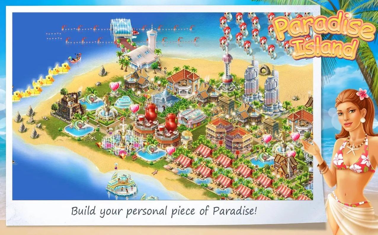 Paradise Island app