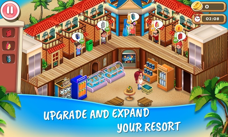 Resort Island Tycoon app