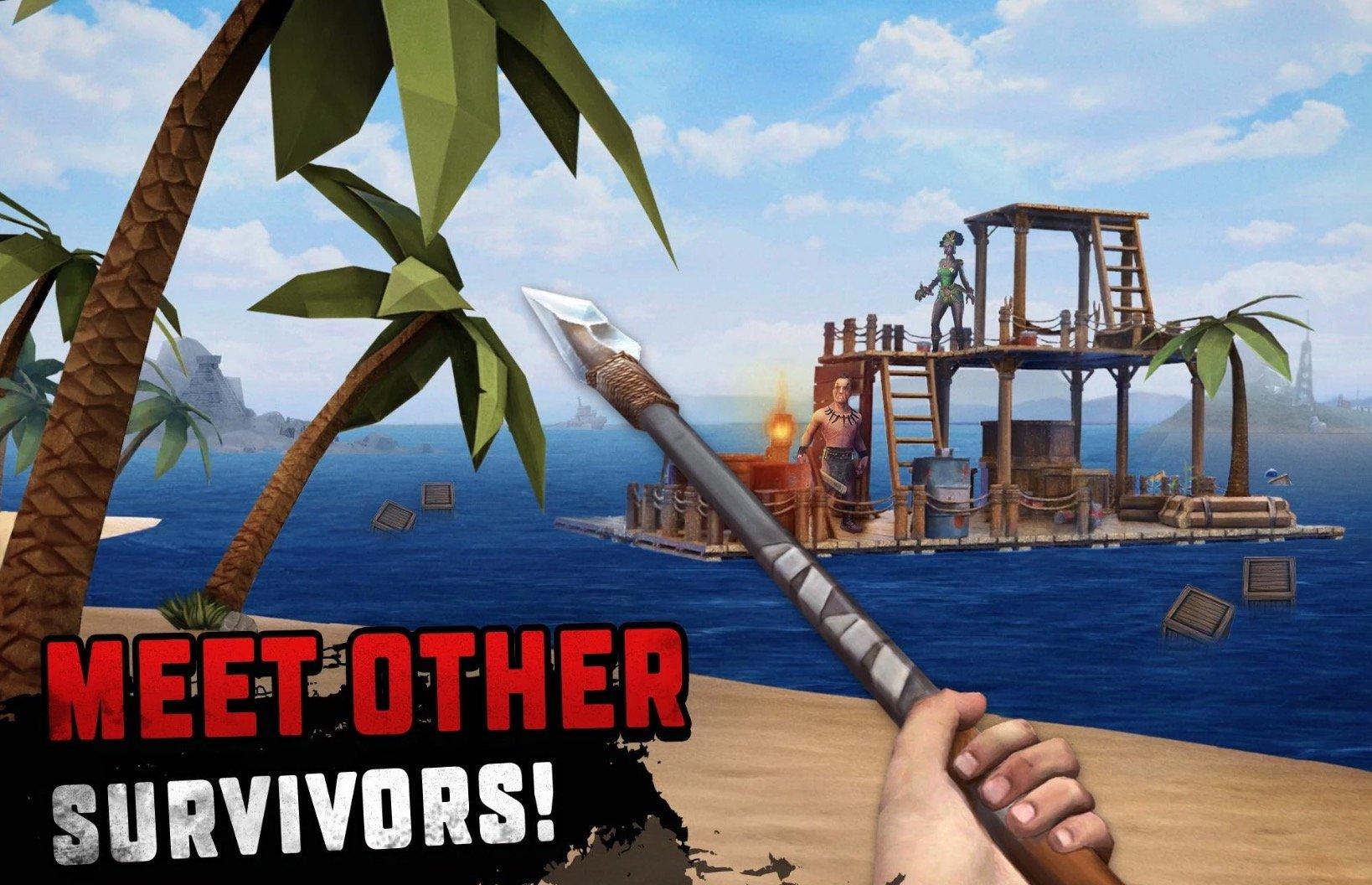 Survival on Raft app