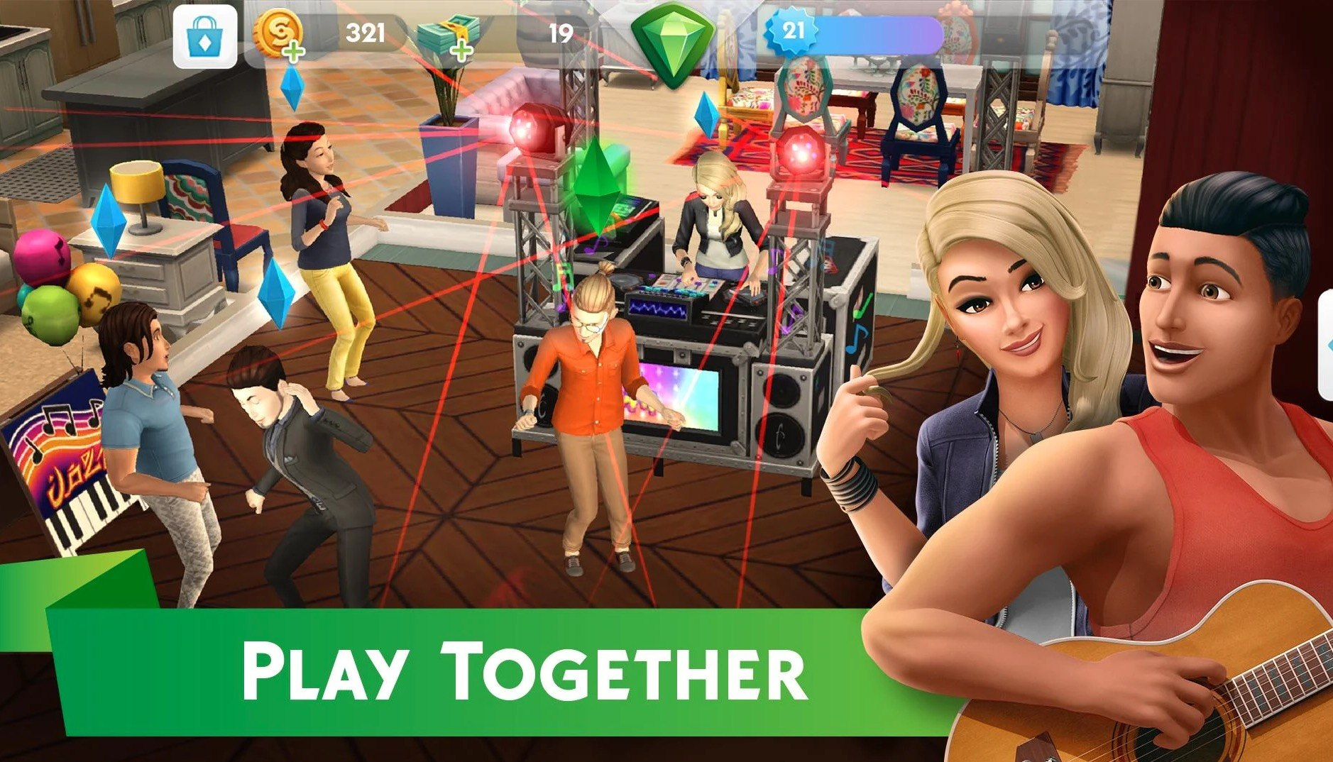 The Sims™ Mobile app