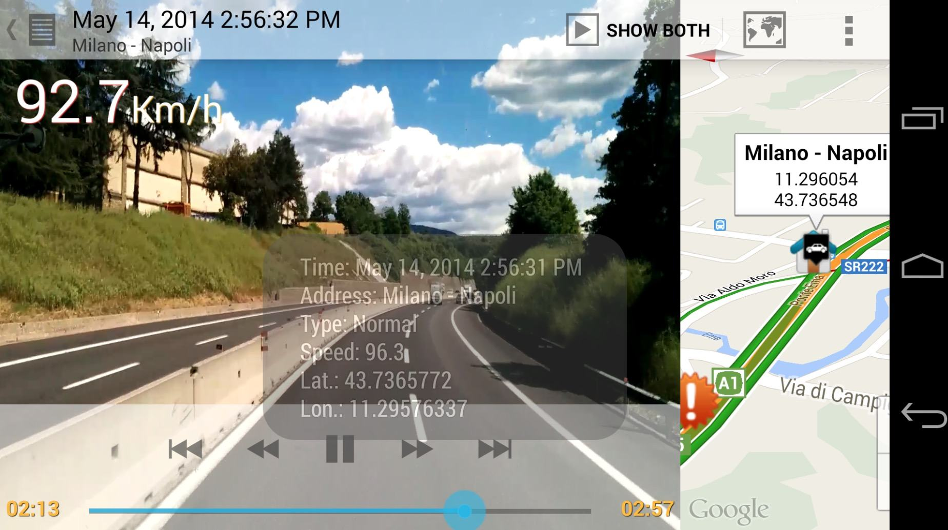 AutoGuard Dash Cam app