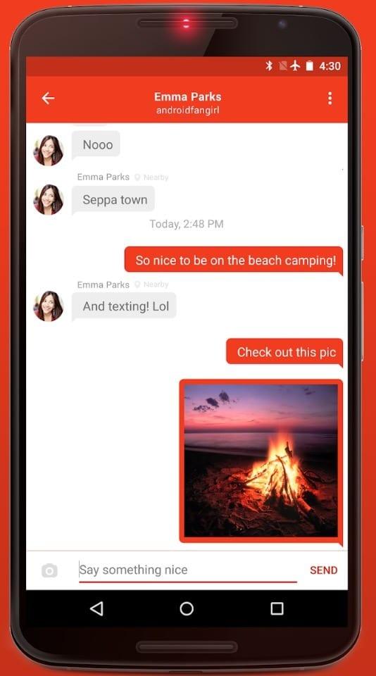 FireChat app