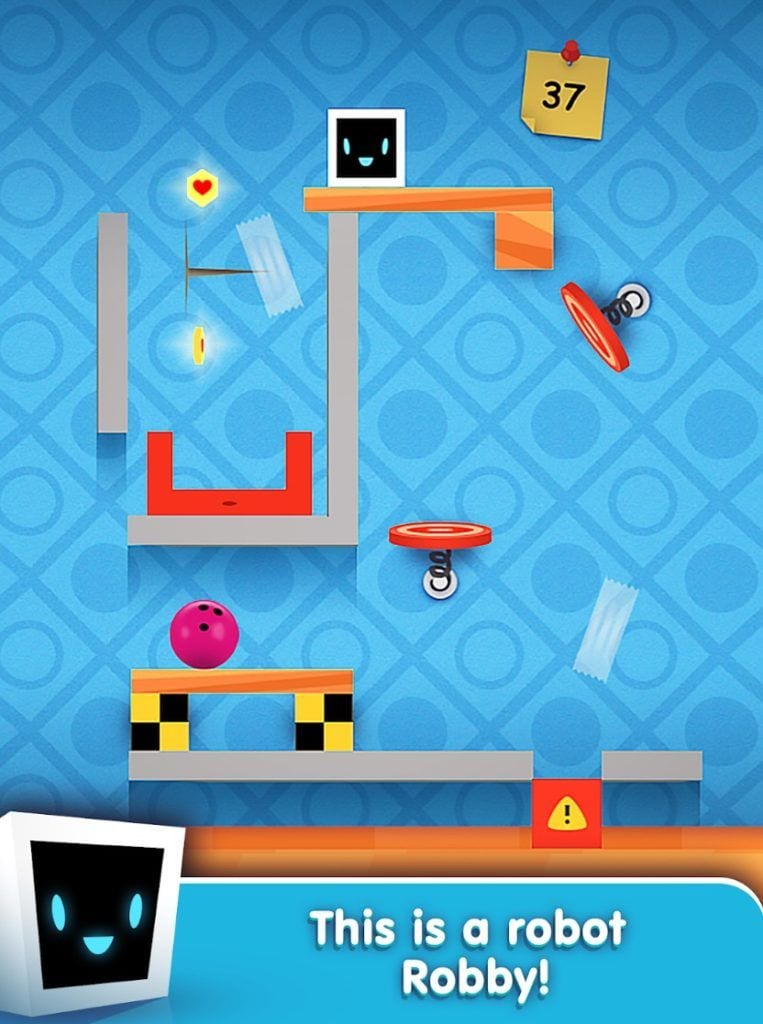 Heart Box - Physics Puzzles app