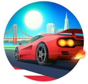 Horizon Chase - World Tour logo