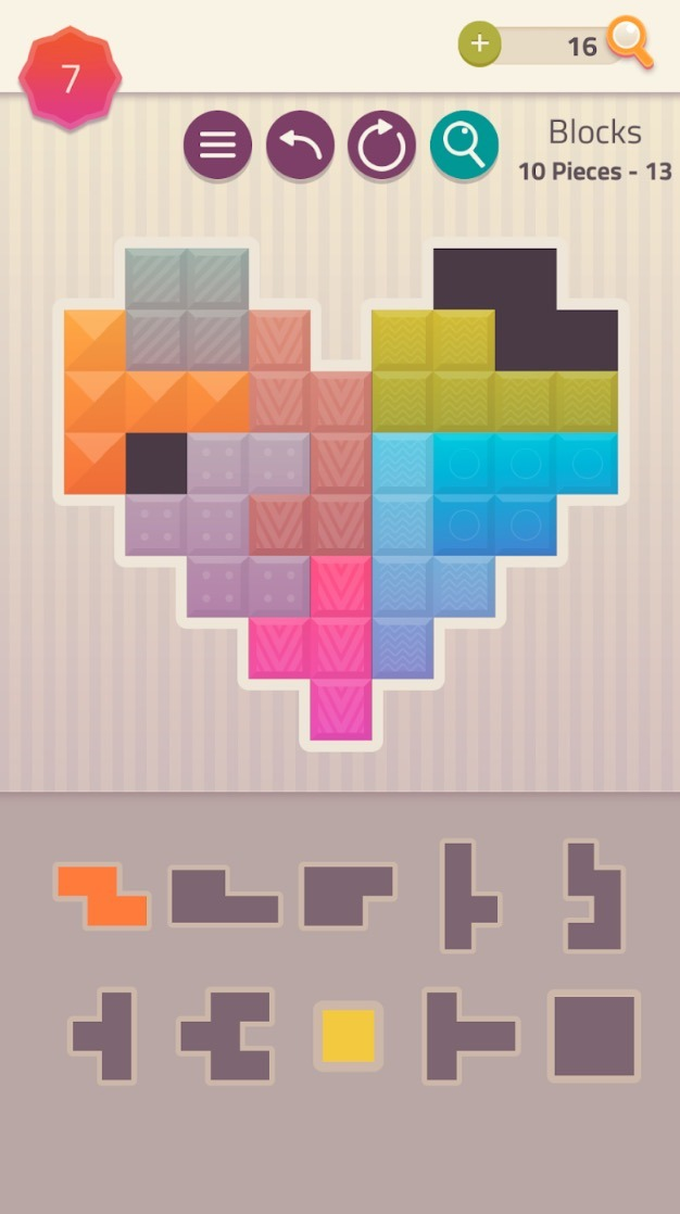 Polygrams app