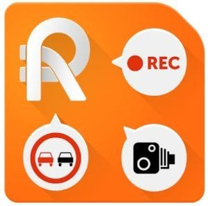 Roadly dashcam & speed camera logo