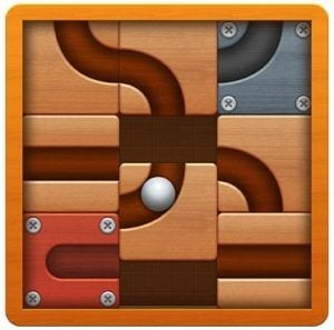Roll the Ball® - slide puzzle logo