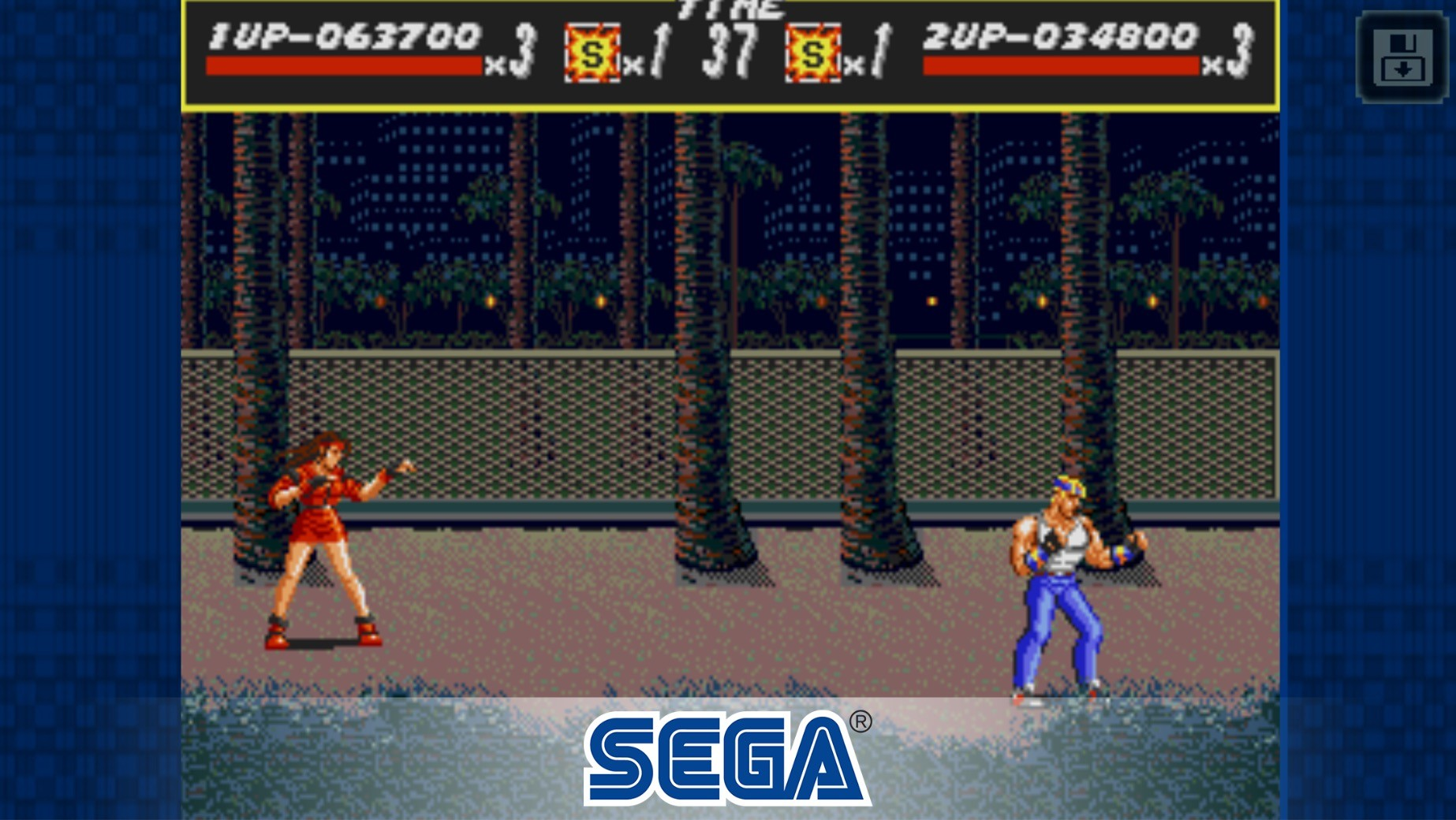 Streets of Rage Classic app