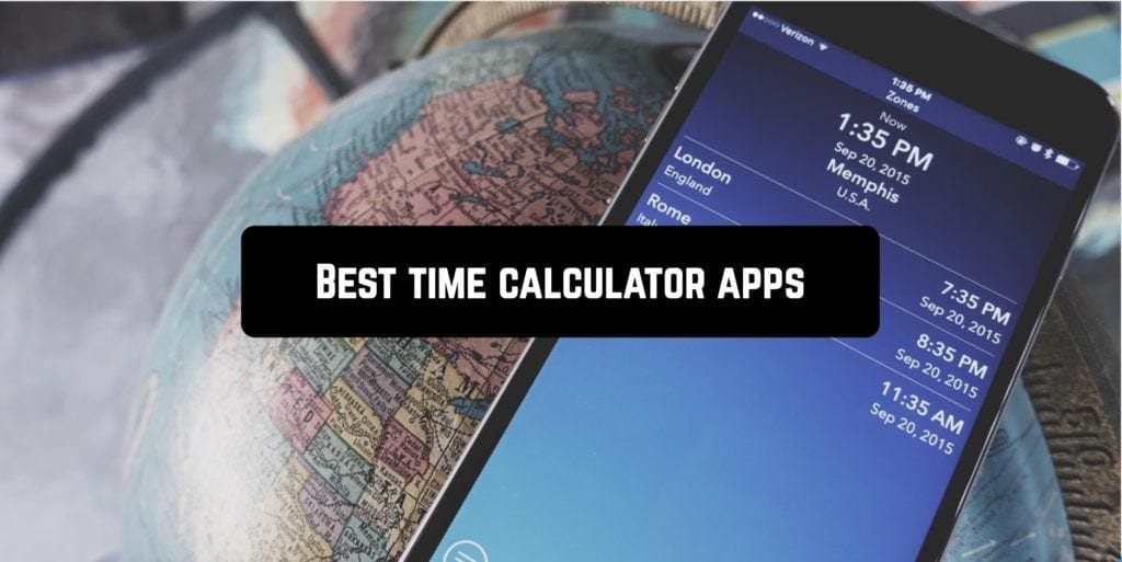 Best time calculator apps