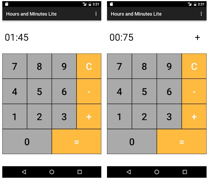 Hours Minutes Time Calculator