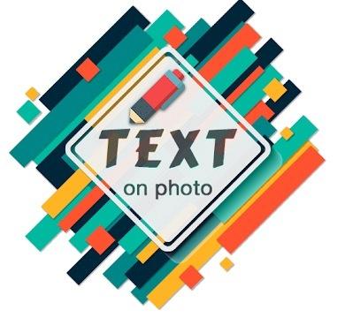 Text On Photo logo