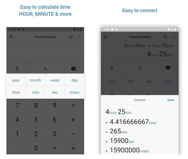 Time Calculator