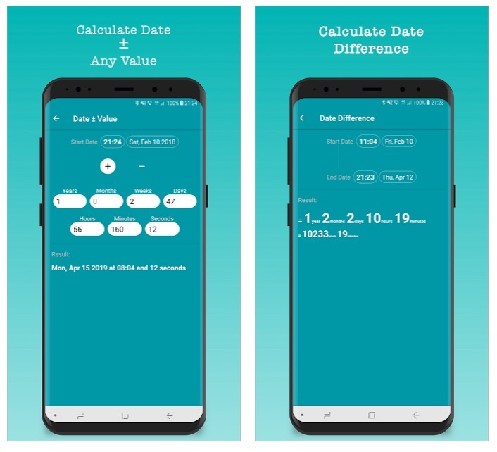 Time and Hours Calculator