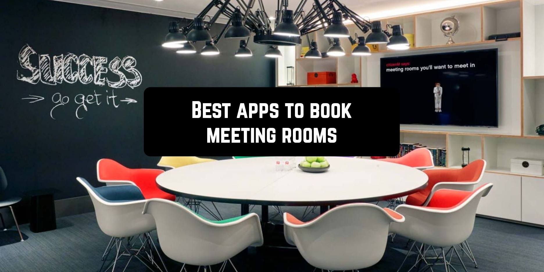 Best Android apps to book meeting rooms