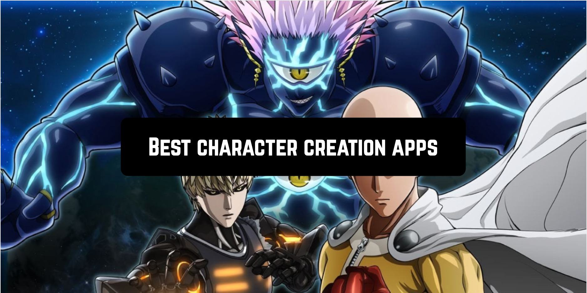 Best character creation apps
