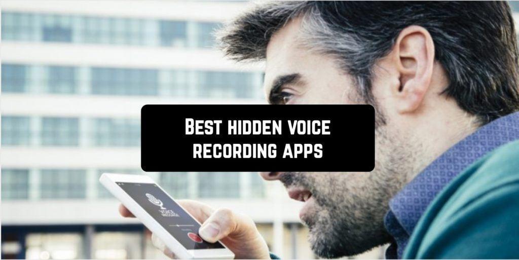 Best hidden voice recording apps
