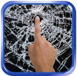 Broken Glass live wallpaper & prank app logo