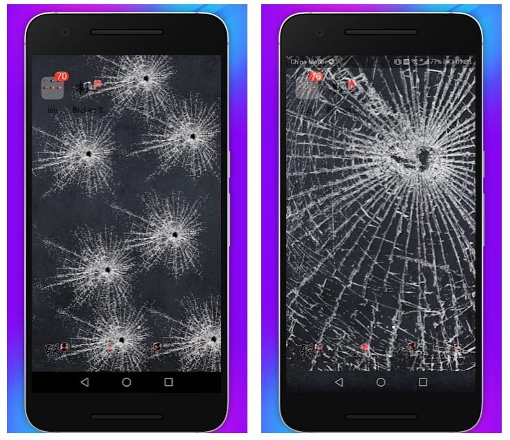 11 Best Fake Broken Screen Apps For Android Android Apps For Me Download Best Android Apps And More