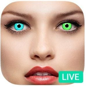 Eye Color Changer Booth app