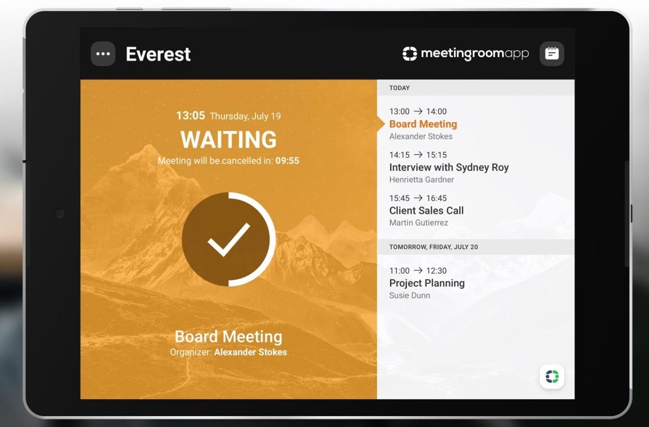 MeetingRoomApp Booking System app