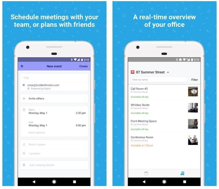 Robin - Meeting Room Booking